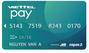 Thẻ ATM ngân hàng ViettelPay