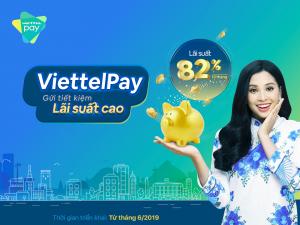 gửi tiết kiệm lãi suất cao trên ViettelPay Kiên Giang