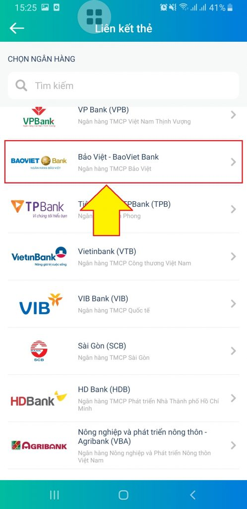 Liên kết ngân hàng Bảo Việt Bank với ViettelPay Kiên Giang