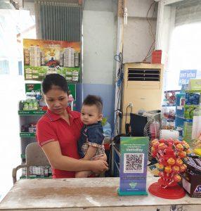 Mini Mart Phú Cường chấp nhận thanh toán QR-CODE qua ViettelPay và Bankplus