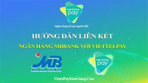 Rút tiền ATM MBBank miễn phí bằng cách liên kết ViettelPay